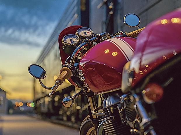 オートサイクル堂中
